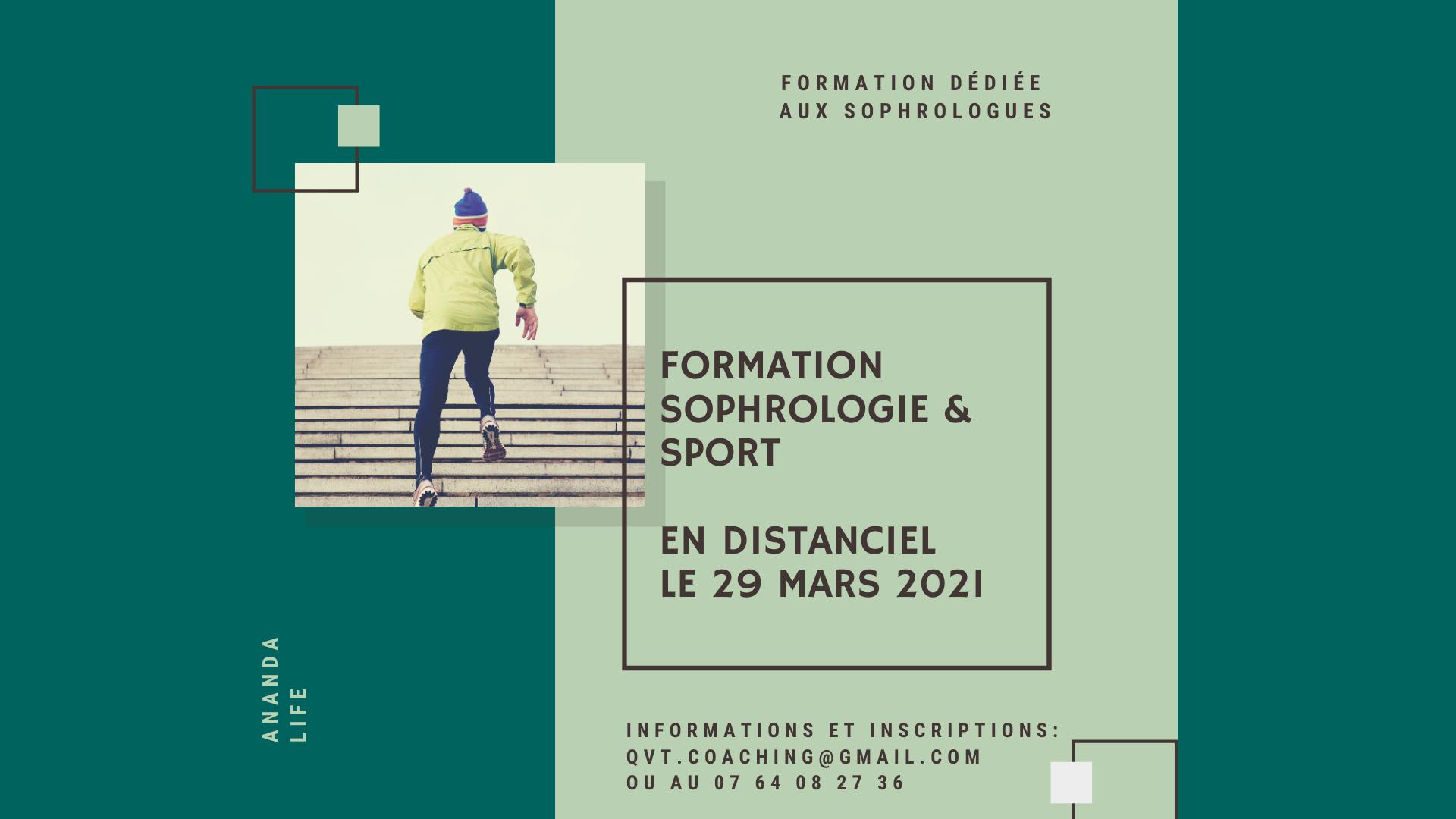 Sophrologie & sport – 29 mars 2021