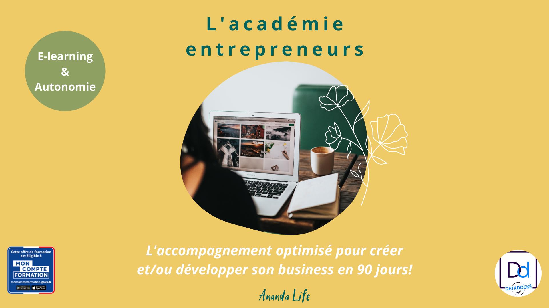 Boost Business – Académie entrepreneurs
