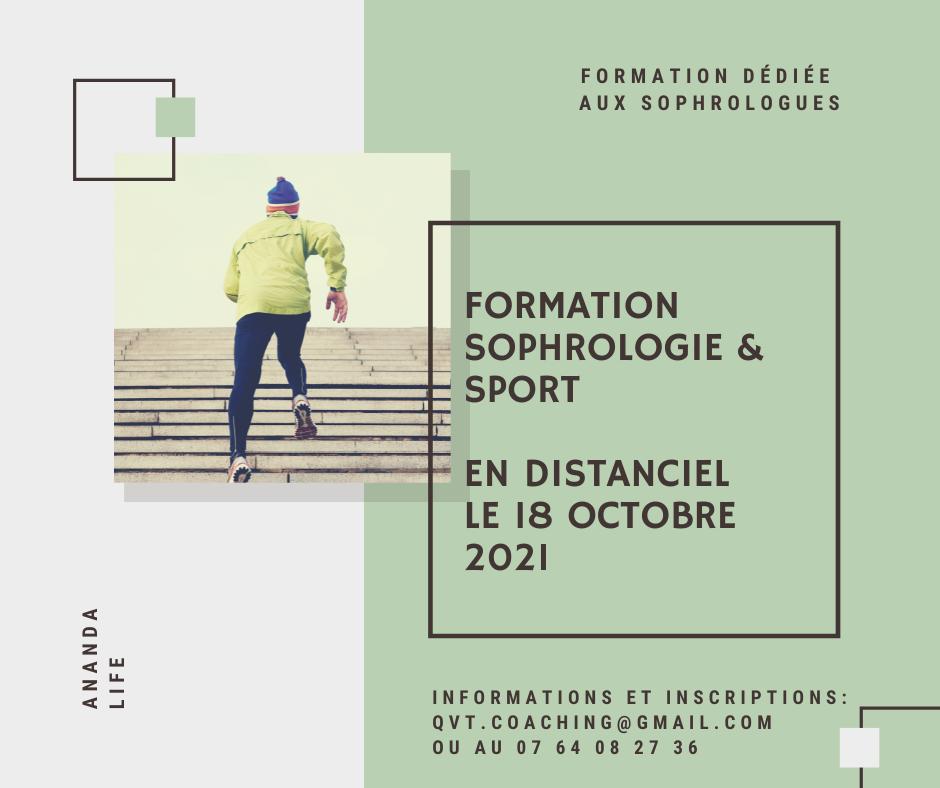 Sophrologie & sport – 18 octobre 2021